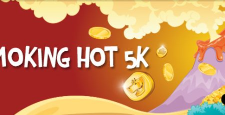 £5K Cash Jackpot at Dino Bingo