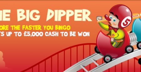 You could Win up to £5,000 Cash Every Sunday at Bingola