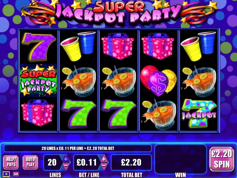 Play Jackpot Party Slot Machine
