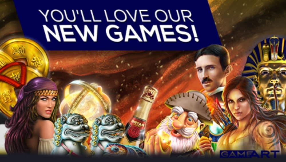 Vegas Crest Casino - GameArt