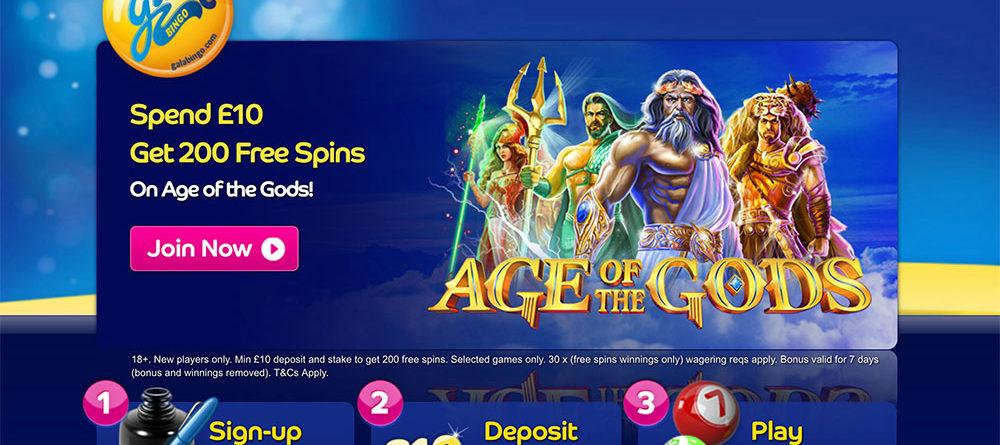 Gala Bingo: 200 Free Spins 1st Deposit Offer