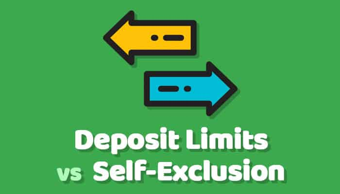 Deposit Limits vs Self-Exclusion
