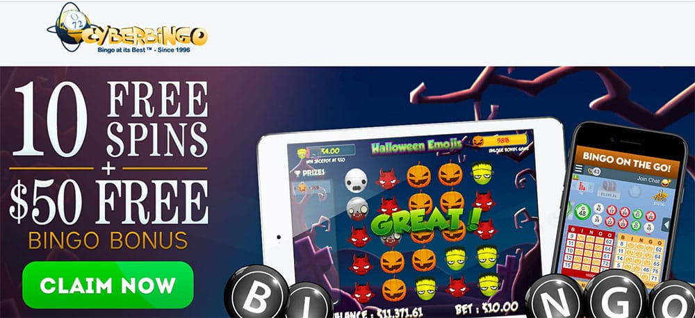 Feel the Chill of the Halloween's Spirit with CyberBingo's Spooky Holiday Promotions!