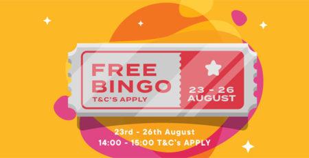 Bingo Diamond Offers Free Bingo