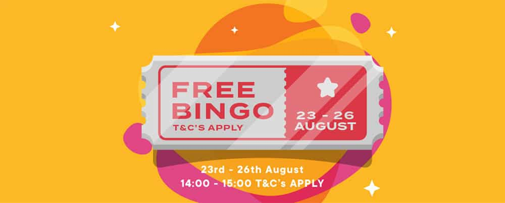 Bingo Diamond Offers Free Bingo