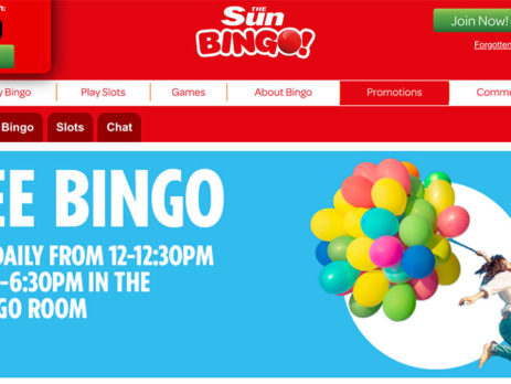 Sun Bingo Brings You 100% Free Bingo