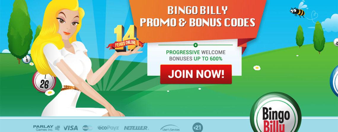 Bingo Billy Promo & Bonus Codes