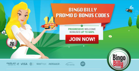 Bingo Billy Promo & Bonus Codes