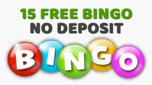 £15 Free Bingo No Deposit Bonus
