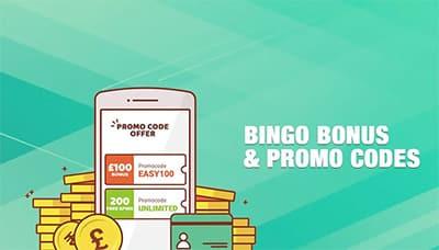 Bingo Bonus and Promo Codes