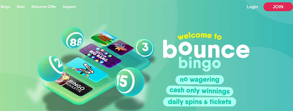 Bounce Bingo Bonus Codes
