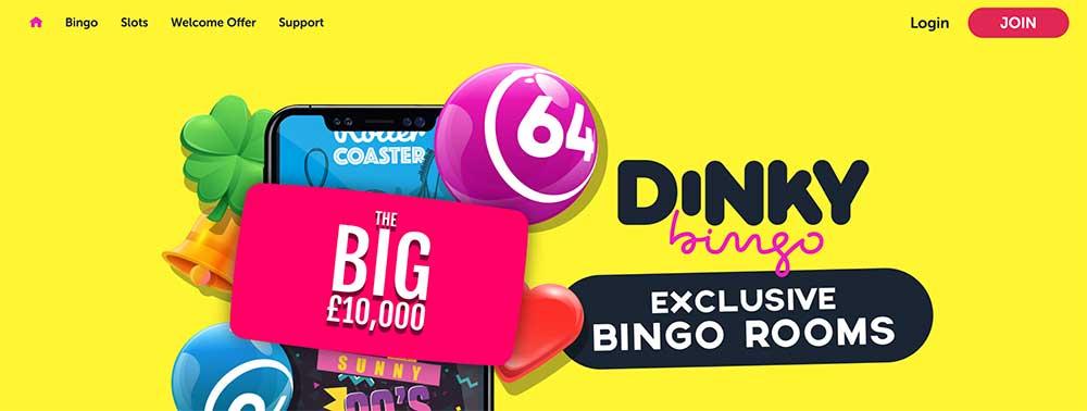 Dinky Bingo Bonus Codes