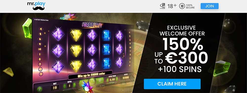 Mr Play Casino Bonus Code