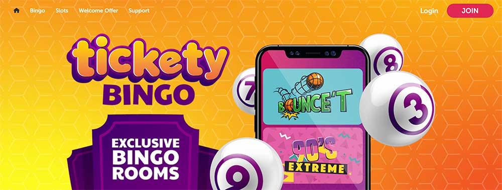 Tickety Bingo Bonus Codes