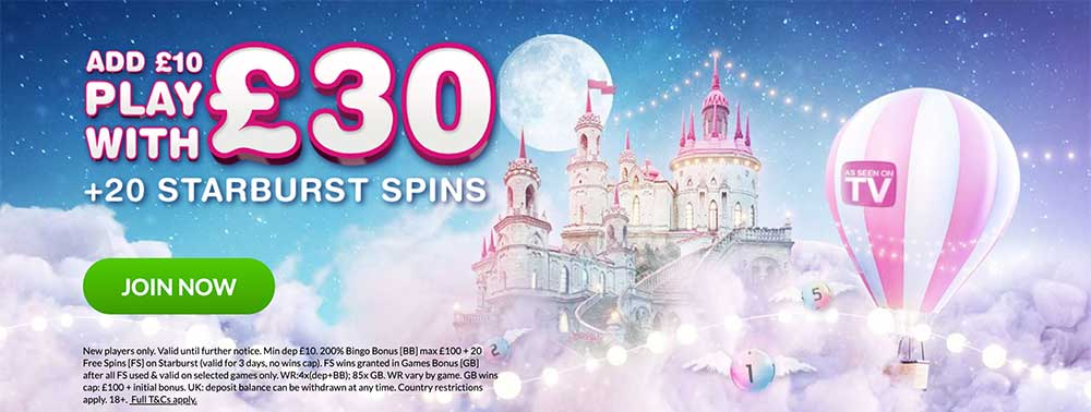 Moon Bingo Promo Codes