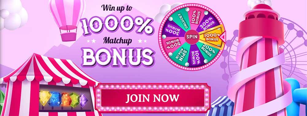 Fairground Slots Bonus Code
